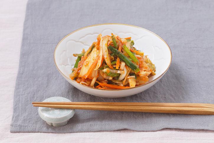 荻野恭子さんに教わる「白菜の即席キムチ」