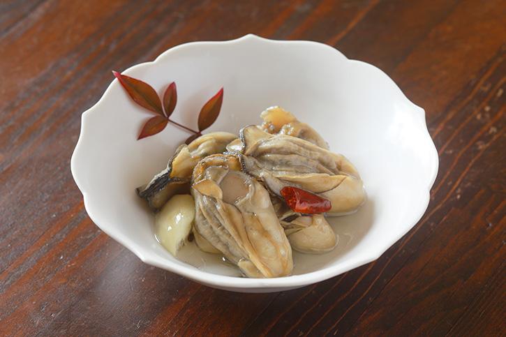 こてらみやさんに教わる「牡蠣のオイル漬け」