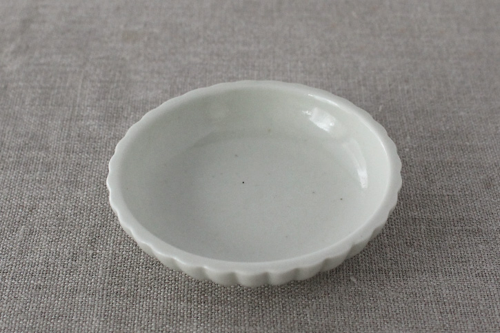 豆皿 土灰 ひまわり (東屋)