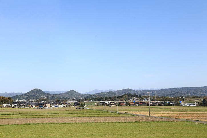 倉吉市福光の風景