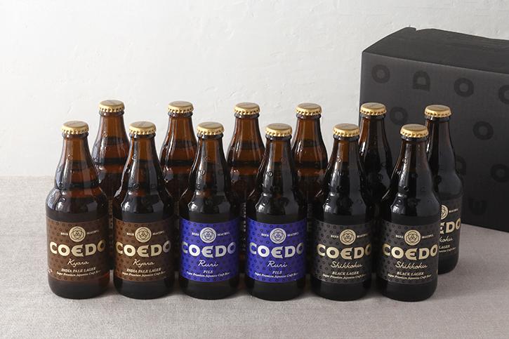 COEDOビール12本セット