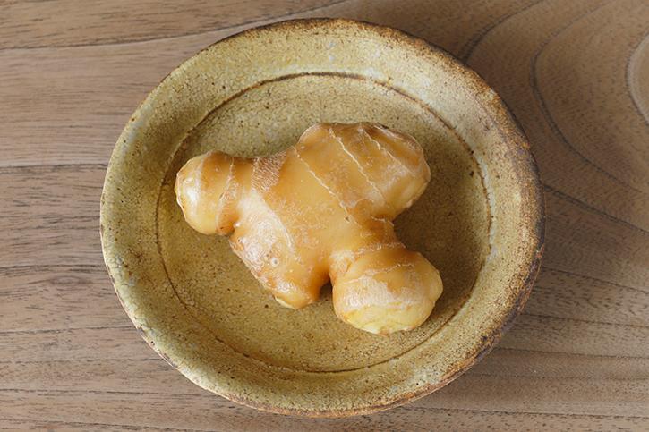 旬の食材「生姜」