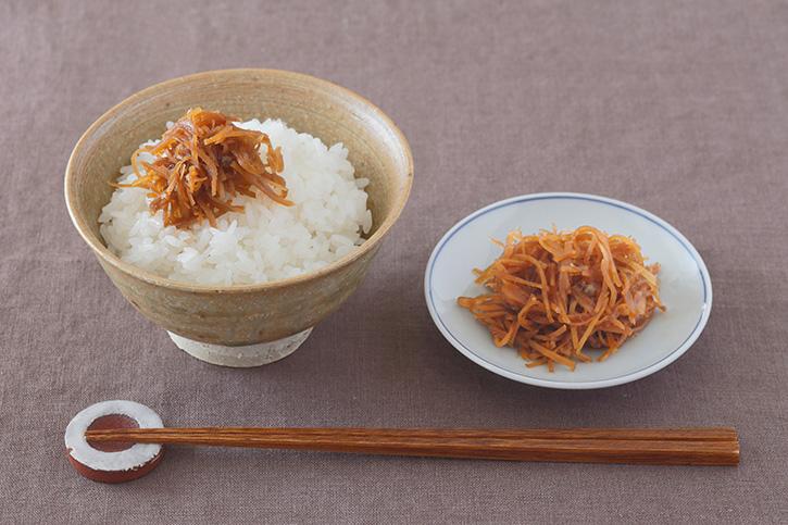 村山由紀子さんに教わる「生姜の佃煮」