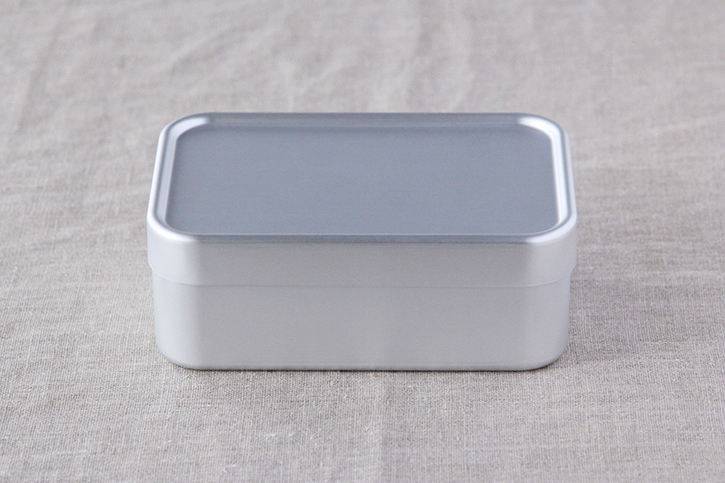 アルミ弁当箱 深型S(大一アルミニウム製作所)