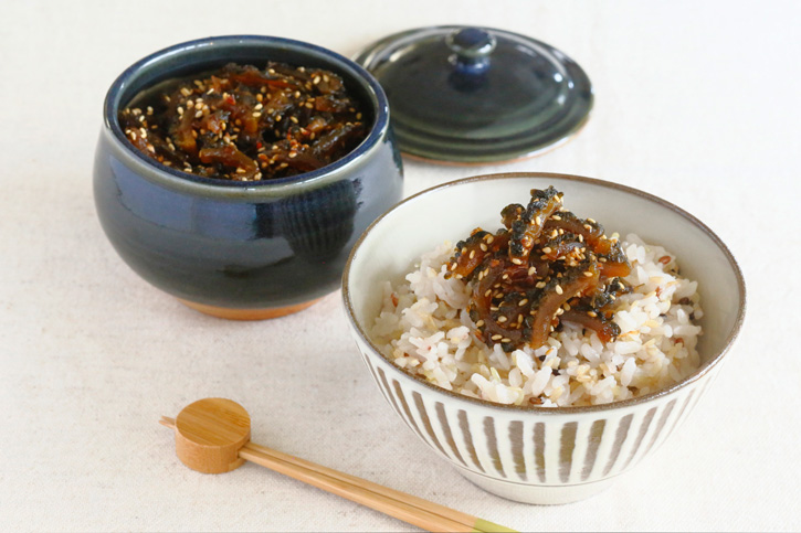 江口恵子さんに教わる「ゴーヤの佃煮」