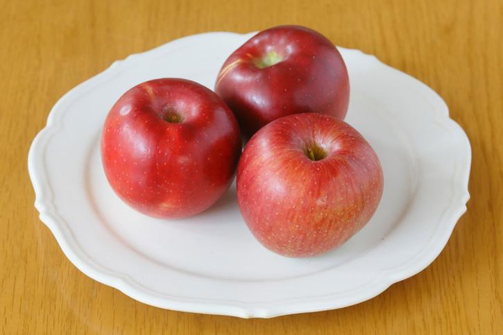 旬の食材「りんご」
