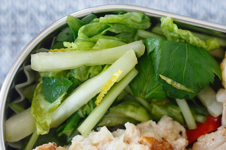 白菜と三つ葉のゆず浸し