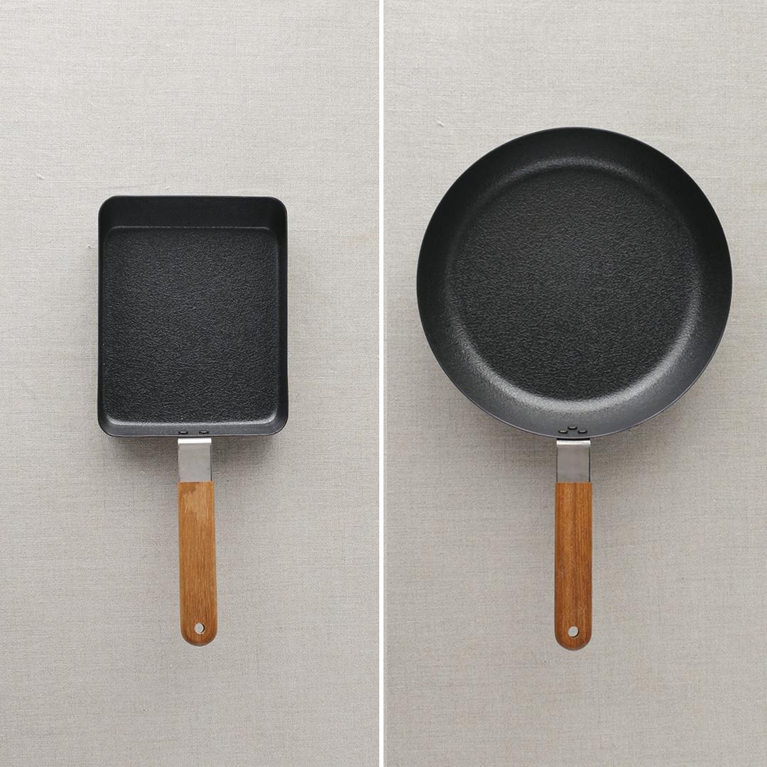 玉子焼き用フライパン・オムレツパンの種類