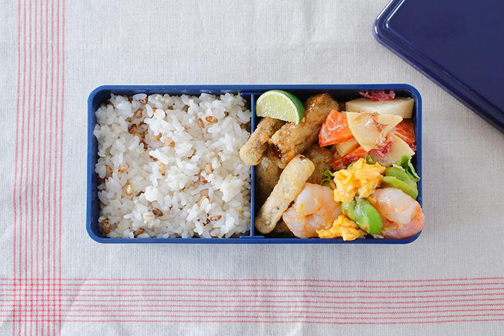お弁当おかずリメイクレシピ「揚げごぼう」