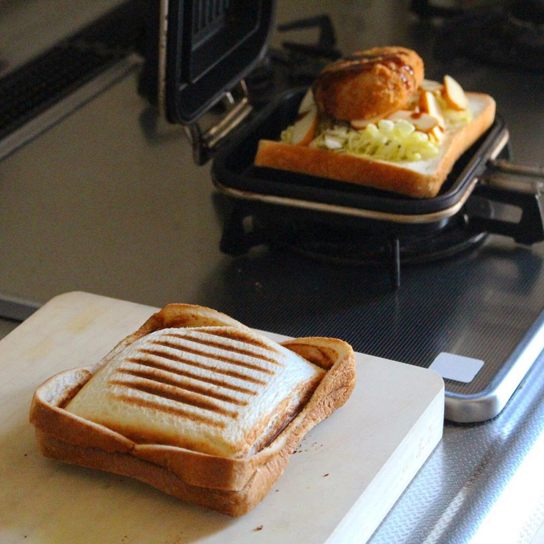 ホットパンとホットサンド