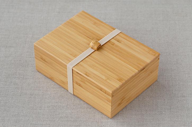 積層弁当箱 一段 ナチュラル(公長齋小菅)