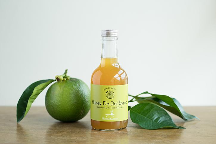 柑橘の香りと酸味が凝縮したホームメイカーズの「ハニーダイダイシロップ」