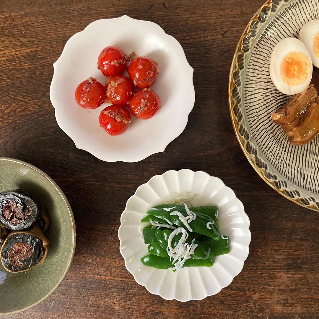 桔梗・菊皿 取り皿 (ジコン/JICON)