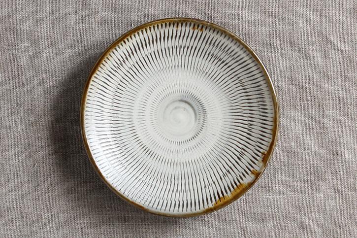 平皿 (小鹿田焼)