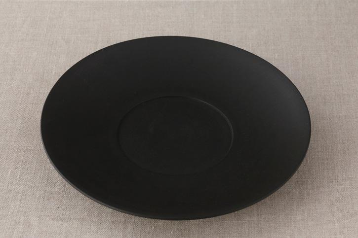 デルフト皿 三度黒 L(イフジボックスメーカー)